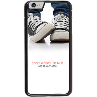 Ayaashii Don't Worry So Much Back Case Cover for Apple iPhone 6S