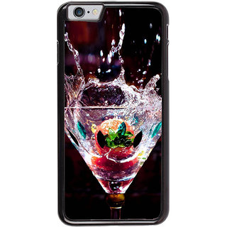 Ayaashii Wine Glass Back Case Cover for Apple iPhone 6S