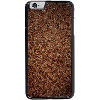 Ayaashii Brown Clored Pattern Back Case Cover for Apple iPhone 6S
