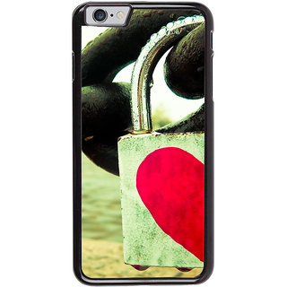 Ayaashii Lock To The Chain Back Case Cover for Apple iPhone 6S