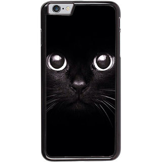 Ayaashii Black Cat Back Case Cover for Apple iPhone 6S