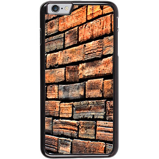 Ayaashii Bricks Pattern Back Case Cover for Apple iPhone 6S