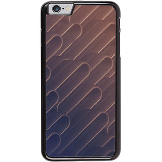 Ayaashii Metal Shape Pattern Back Case Cover for Apple iPhone 6S