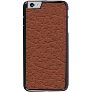Ayaashii Brownish Pattern Layer Back Case Cover for Apple iPhone 6S