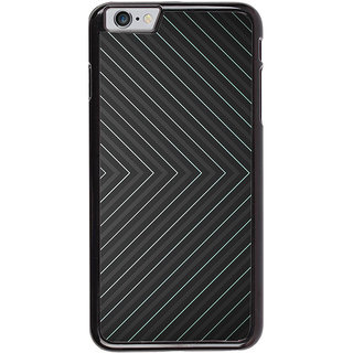 Ayaashii Line Pattern Back Case Cover for Apple iPhone 6S