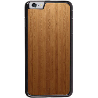 Ayaashii Brown Shaded Wood Back Case Cover for Apple iPhone 6S