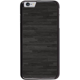 Ayaashii Polished Wood Pattern Back Case Cover for Apple iPhone 6S