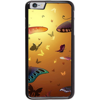 Ayaashii Colorful Butterflies Back Case Cover for Apple iPhone 6S