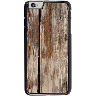 Ayaashii Wood Pattern Back Case Cover for Apple iPhone 6S