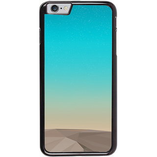 Ayaashii Blue Layered Design Back Case Cover for Apple iPhone 6S