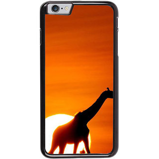 Ayaashii Giraffe At The Sun Set Back Case Cover for Apple iPhone 6