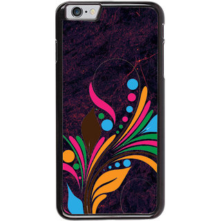 Ayaashii Floral Design Back Case Cover for Apple iPhone 6S