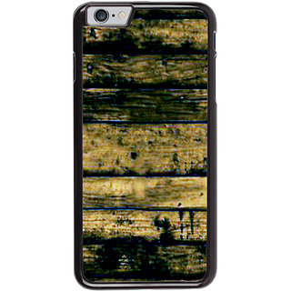 Ayaashii Wood Layered Pattern Back Case Cover for Apple iPhone 6S