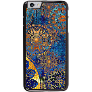 Ayaashii Circle Rangoli Pattern Back Case Cover for Apple iPhone 6S