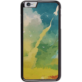 Ayaashii Rocket On Sky Painting Back Case Cover for Apple iPhone 6