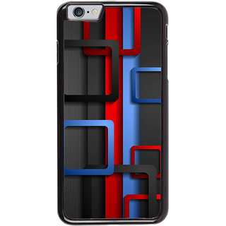 Ayaashii Square Abstract Back Case Cover for Apple iPhone 6