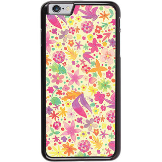 Ayaashii Floral Pattern Back Case Cover for Apple iPhone 6S