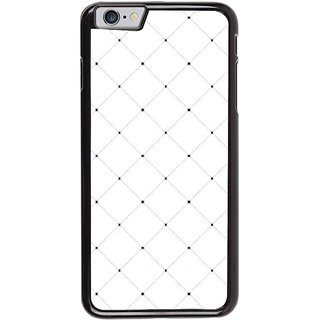 Ayaashii White Checks Pattern Back Case Cover for Apple iPhone 6