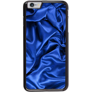 Ayaashii Blue Slik Cloth Back Case Cover for Apple iPhone 6S