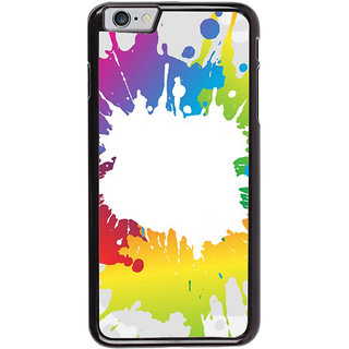 Ayaashii Colors Spread Back Case Cover for Apple iPhone 6S