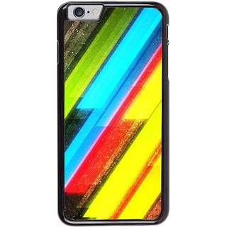 Ayaashii Cross Colors Abstract Back Case Cover for Apple iPhone 6S