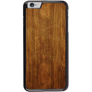 Ayaashii Wooden Finish Back Case Cover for Apple iPhone 6