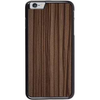 Ayaashii Wooden Finish Back Case Cover for Apple iPhone 6S