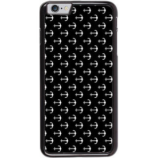 Ayaashii Anchor Pattern Back Case Cover for Apple iPhone 6