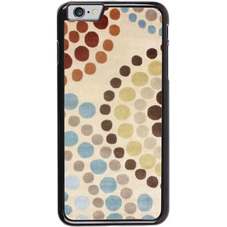 Ayaashii Circle Drop Painting Back Case Cover for Apple iPhone 6S