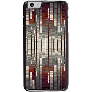 Ayaashii Stripes Abstract Back Case Cover for Apple iPhone 6
