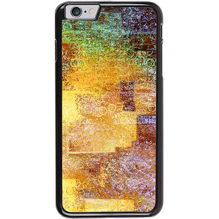 Ayaashii Circle Pattern Painting Back Case Cover for Apple iPhone 6S