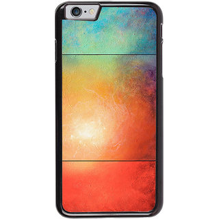Ayaashii Colorful Galaxy Back Case Cover for Apple iPhone 6S