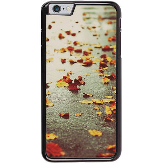 Ayaashii Fallen Leaves Back Case Cover for Apple iPhone 6S