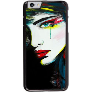 Ayaashii Crying Girl Painting Back Case Cover for Apple iPhone 6