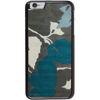 Ayaashii Leaf Pattern Back Case Cover for Apple iPhone 6S