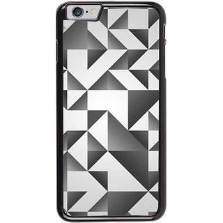 Ayaashii Black And White Abstract Back Case Cover for Apple iPhone 6S