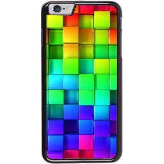 Ayaashii Square Abstract Back Case Cover for Apple iPhone 6S