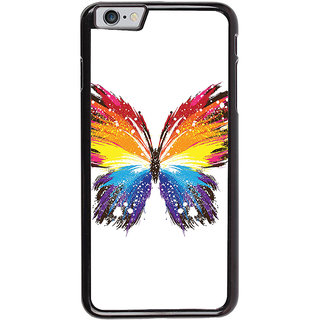 Ayaashii Colorful Butterfly Back Case Cover for Apple iPhone 6S