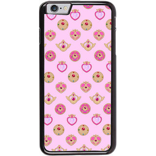 Ayaashii Heart Pattern Back Case Cover for Apple iPhone 6S