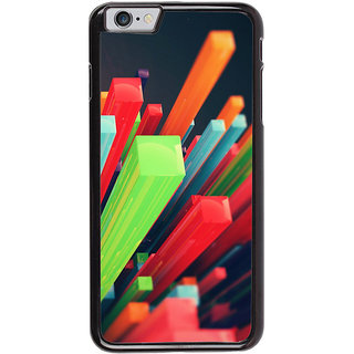 Ayaashii Colorful Stics Back Case Cover for Apple iPhone 6