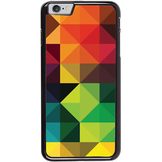 Ayaashii Triangle Pattern Back Case Cover for Apple iPhone 6S