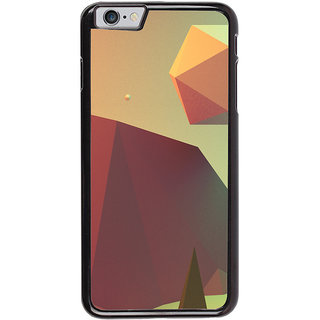 Ayaashii Shapes Scenery Back Case Cover for Apple iPhone 6
