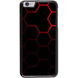Ayaashii Hexagon Pattern Back Case Cover for Apple iPhone 6