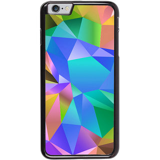 Ayaashii Colorful Abstract Back Case Cover for Apple iPhone 6