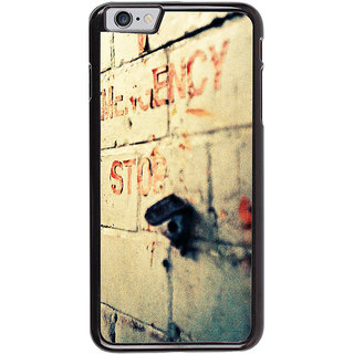 Ayaashii Emergency Stop Back Case Cover for Apple iPhone 6