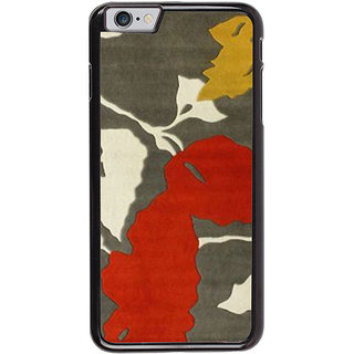 Ayaashii Leaf Pattern Back Case Cover for Apple iPhone 6