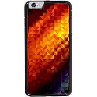Ayaashii Animated Cross Pattern Back Case Cover for Apple iPhone 6