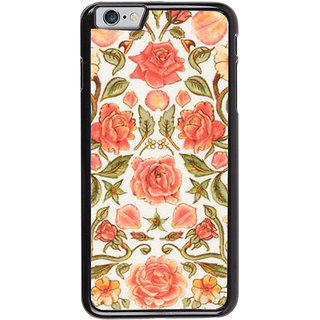 Ayaashii Pink Rose Pattern Back Case Cover for Apple iPhone 6