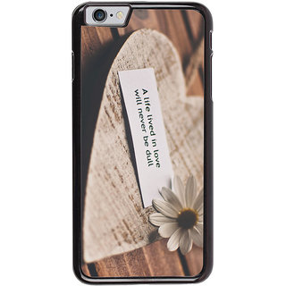 Ayaashii A Life Lived In Love Back Case Cover for Apple iPhone 6