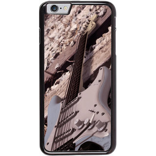 Ayaashii Guitar On Track Back Case Cover for Apple iPhone 6
